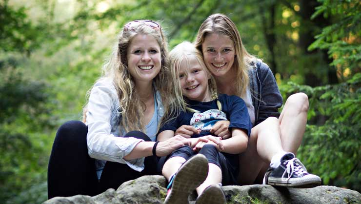 It can take time for children to adjust to a new au pair.